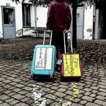 Un solo viaggio due valigie